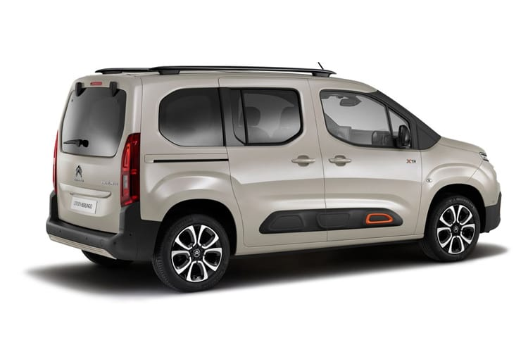 Citroen Berlingo XL MPV 1.5 BlueHDi 100PS Flair XTR 5Dr Manual [Start Stop] back view
