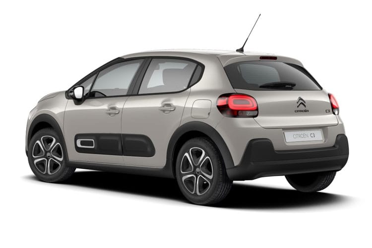 Citroen C3 Hatch 5Dr 1.2 PureTech 110PS Shine Plus 5Dr EAT6 [Start Stop] back view