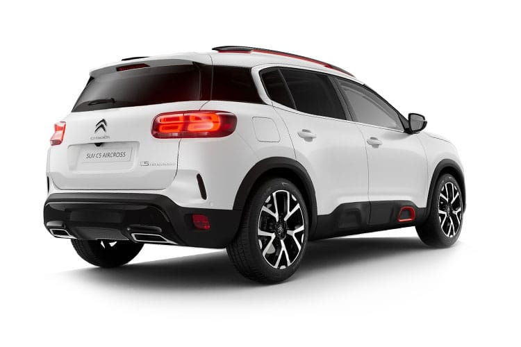 Citroen C5 Aircross SUV 1.2 PureTech 130PS Flair Plus 5Dr EAT8 [Start Stop] back view