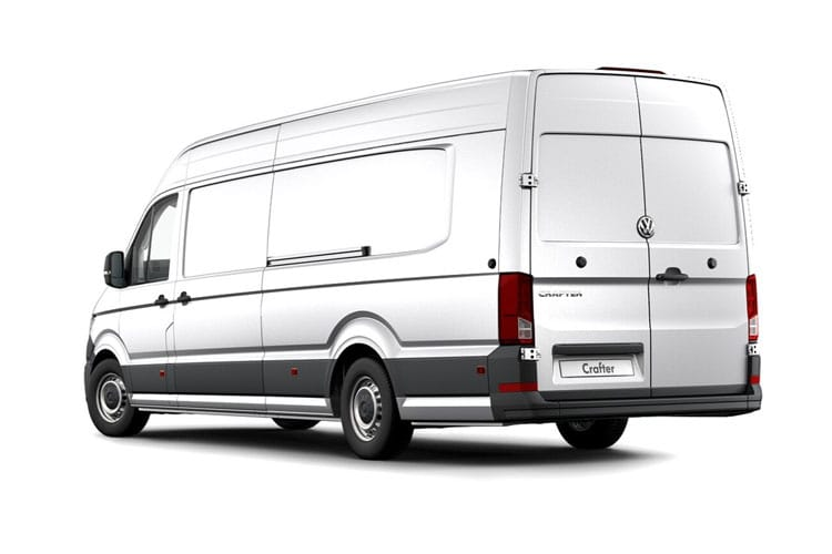 Volkswagen Crafter CR35MWB FWD 2.0 TDI FWD 102PS Trendline Van Manual [Start Stop] back view