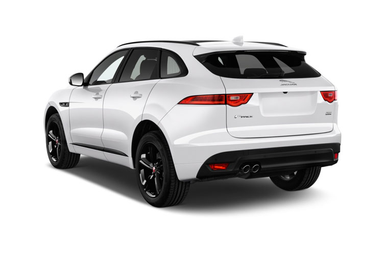 Jaguar F-PACE SUV AWD 2.0 i 250PS R-Dynamic HSE 5Dr Auto [Start Stop] back view