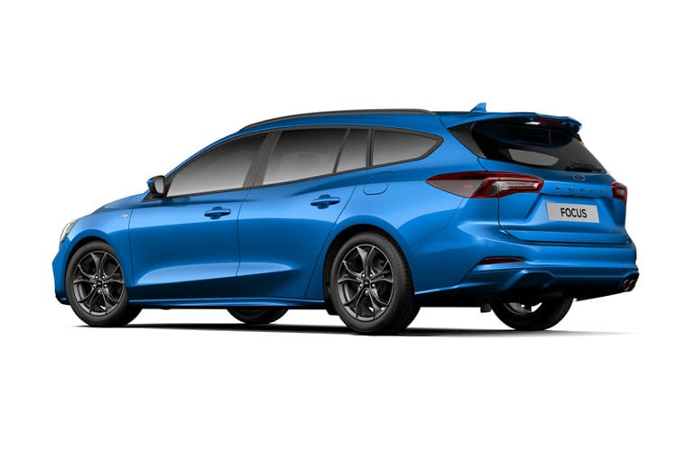 Ford Focus Estate 2.0 EcoBlue 150PS Titanium X Edition 5Dr Auto [Start Stop] back view