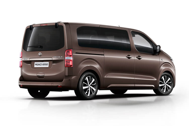 Toyota PROACE Verso Medium 2.0 D FWD 150PS Shuttle MPV Manual [Start Stop] [9Seat Navi] back view