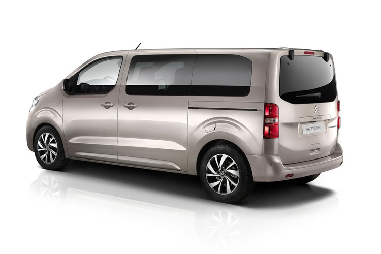 Citroen SpaceTourer XL 5Dr 2.0 BlueHDi FWD 150PS Feel MPV Manual [Start Stop] [8Seat] back view