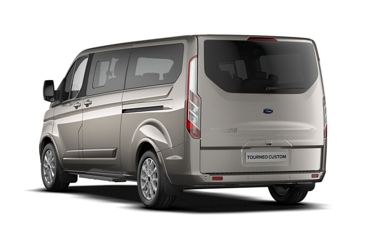 Ford Tourneo Custom 320 L1 M1 2.0 EcoBlue FWD 185PS Sport Minibus Auto [Start Stop] [8Seat] back view