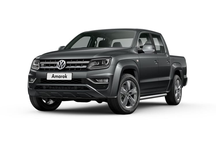 Volkswagen Amarok Pick Up DCab 4Motion 3.0 TDI V6 4WD 258PS Aventura Black Edition Pickup Double Cab Auto [Start Stop] front view