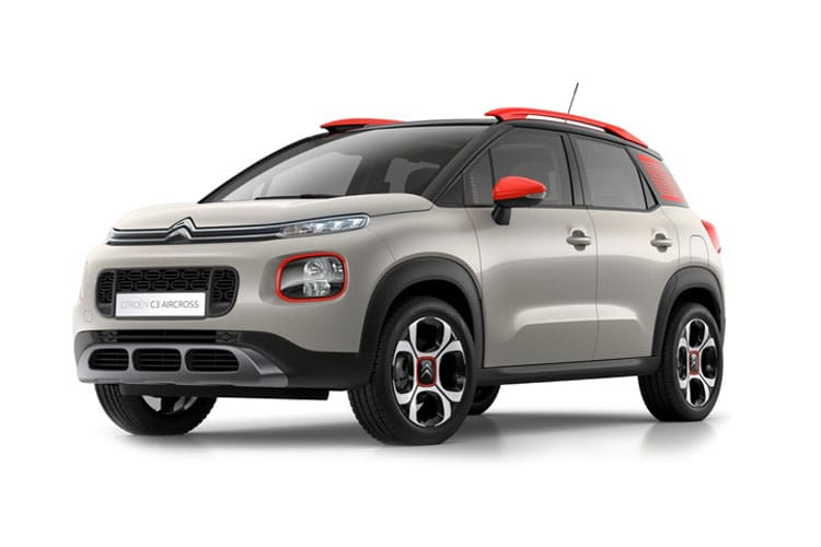 Citroen C3 Aircross SUV 1.2 PureTech 110PS Shine 5Dr Manual [Start Stop] front view