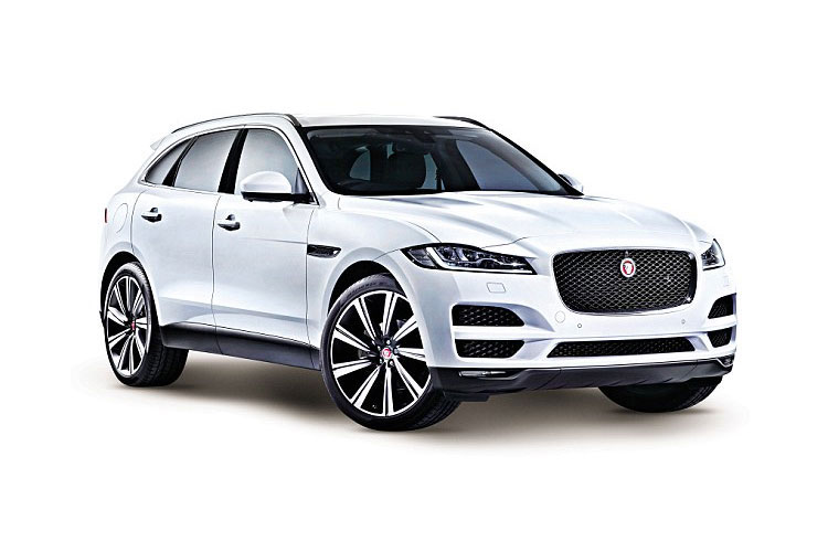 Jaguar F-PACE SUV AWD 2.0 i 250PS R-Dynamic HSE 5Dr Auto [Start Stop] front view