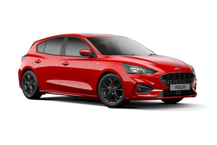 Ford Focus Hatch 5Dr 1.0 T EcoBoost MHEV 125PS Zetec Edition 5Dr Manual [Start Stop] front view