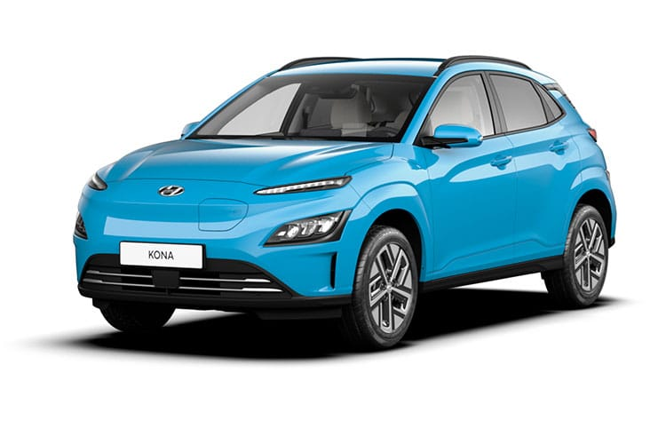 Hyundai KONA SUV Elec 64kWh 150KW 204PS Premium SE 5Dr Auto [7kW Charger] front view