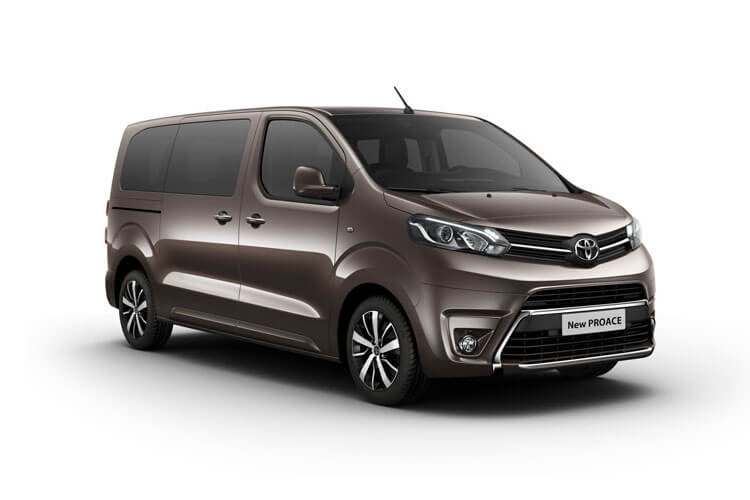 Toyota PROACE Verso Medium 2.0 D FWD 150PS Shuttle MPV Manual [Start Stop] [9Seat Navi] front view