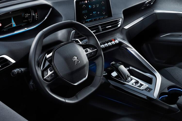 Peugeot 3008 SUV 1.5 BlueHDi 130PS Allure 5Dr Manual [Start Stop] inside view