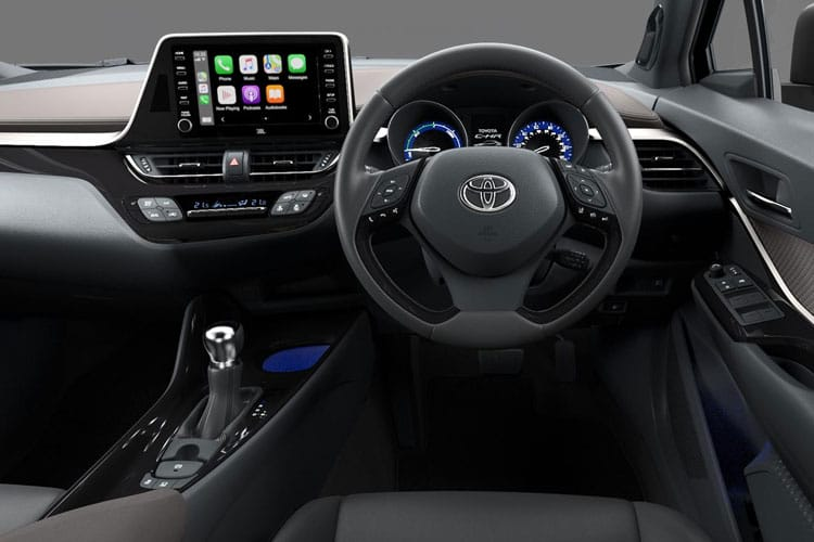 Toyota C-HR 5Dr 1.8 VVT-h 122PS Dynamic 5Dr CVT [Start Stop] inside view