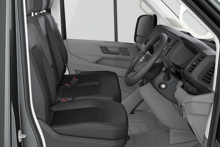 Volkswagen Crafter CR35LWB FWD 2.0 TDI FWD 140PS Startline Business Chassis Double Cab Auto [Start Stop] inside view