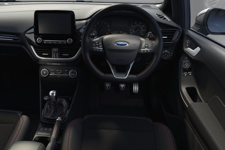 Ford Fiesta Hatch 5Dr 1.0 T EcoBoost 95PS Titanium 5Dr Manual [Start Stop] inside view